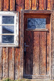 The old wooden door Royalty Free Stock Image