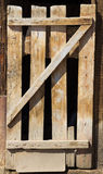 An old wooden door Stock Photography