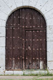 Old wooden door Stock Images