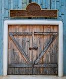 The Old wooden door Stock Photo