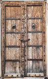 Old wooden door. Stock Images