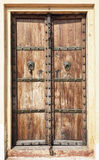Old wooden door. Stock Photos