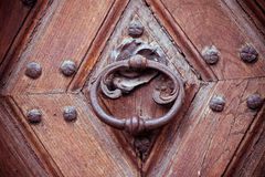 Old wooden door Royalty Free Stock Photos
