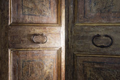 Free Old Wooden Door Royalty Free Stock Image - 33999556