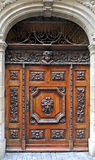 Old wooden door Stock Image