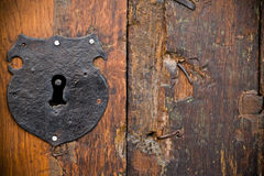 Free Old Wooden Door Royalty Free Stock Photography - 7365827