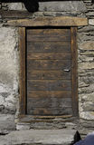 Old Wooden Door Royalty Free Stock Photo
