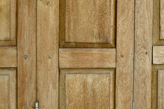 Old wooden door abstract texture background Stock Photography