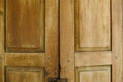 Old wooden door abstract texture background Stock Image