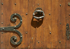 Abstract old wooden door background Royalty Free Stock Image