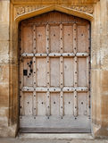 Old wooden door background Royalty Free Stock Images