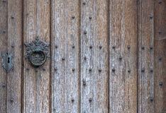 Old wooden door background Royalty Free Stock Photography
