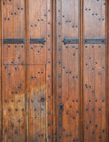 Old wooden door background (Oxford) Royalty Free Stock Images