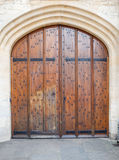 Old wooden door background (Oxford) Stock Image