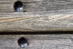 Old wooden door. For background or texture Royalty Free Stock Photos