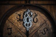 Old wooden door Royalty Free Stock Photo