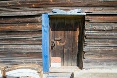 Old wooden door closed Stock Photos