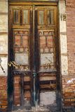 Door No. 12 is closed Stock Photo