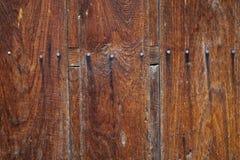 Old Wooden Door Detail Royalty Free Stock Photo