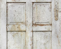 Old wooden door detail Royalty Free Stock Image