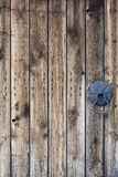 Old  wooden door details Stock Images