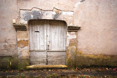 An old wooden door Royalty Free Stock Photos