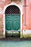 Old wooden door or gate Royalty Free Stock Photo