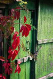 Old wooden door Stock Photos