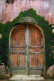 Old wooden door Stock Image