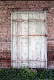 Old wooden door house Royalty Free Stock Image
