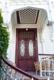 Old wooden door in Istanbul Stock Photos