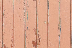 Old wooden door with paint peeling. Royalty Free Stock Images
