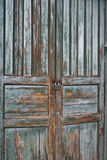 Old wooden Door painted. Latin America Royalty Free Stock Images
