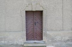 Old wooden door. Stock Images