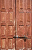 Old wooden door pattern Royalty Free Stock Image