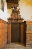 Old wooden door. Royalty Free Stock Photos