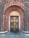 Old wooden door Stock Images