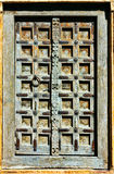 Old wooden door. Royalty Free Stock Photo