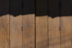 The old wooden door Stock Photography