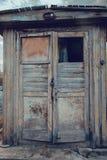 Old wooden door retro vintage Stock Images