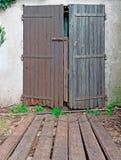 Old wooden door, Royalty Free Stock Photo