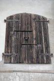 An old wooden door Stock Image