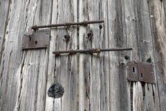An old wooden door Stock Photo