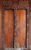 Old wooden door at Stone Town Royalty Free Stock Image