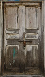 Old wooden door at Stone Town Stock Photography