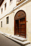 Old wooden door at Stone Town Stock Photo