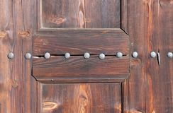 Old wooden door texture Stock Photography