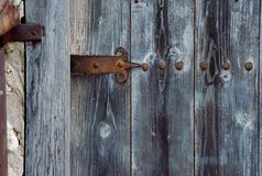 Old wooden door texture Royalty Free Stock Photos