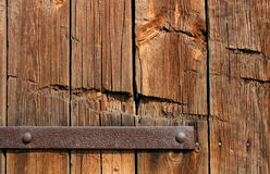 Old wooden door texture Stock Photo