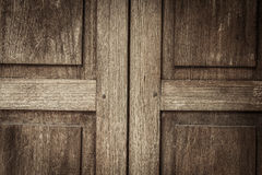 Old wooden door texture background Royalty Free Stock Image